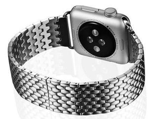 NOVA Link Band Steel Armour B-fly Buckle for 38/40/42/44mm Apple Watch 5 4 3 2 1