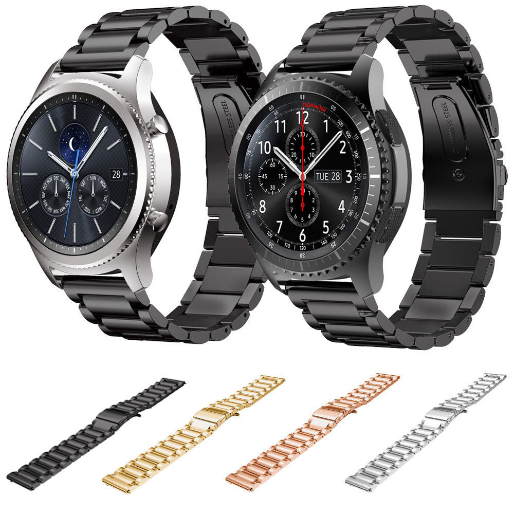 IRONMAN Stainless Steel Watch Band Bracelet for Samsung Gear S3 Frontier Classic