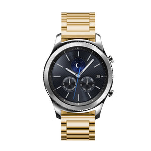 IRONMAN Steel Watch Band Bracelet for Samsung Gear S3 Frontier Classic Galaxy 46mm