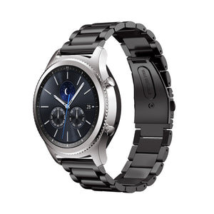 SMITH Stainless Steel Watch Band Link Bracelet Strap for Samsung Gear S2 Classic 4 Colors