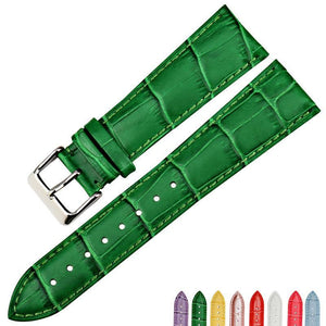 JADEITE Genuine Leather Watch Strap Band 16mm 18mm 20mm 22mm for Gucci Watch