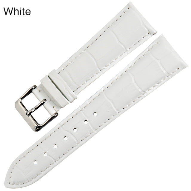 JADEITE Genuine Leather Watch Strap Band 12mm to 22mm 8 Colors