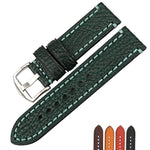 KCROCS Genuine Leather Watch Strap Band for PANERAI 20mm 22mm 24mm 26mm Watch Accessories