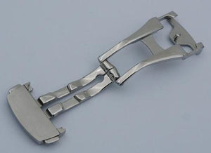 TEE 316L Stainless Steel Watch Deployant Clasps 16mm 18mm 20mm for OMEGA/Generic Brand No Logo