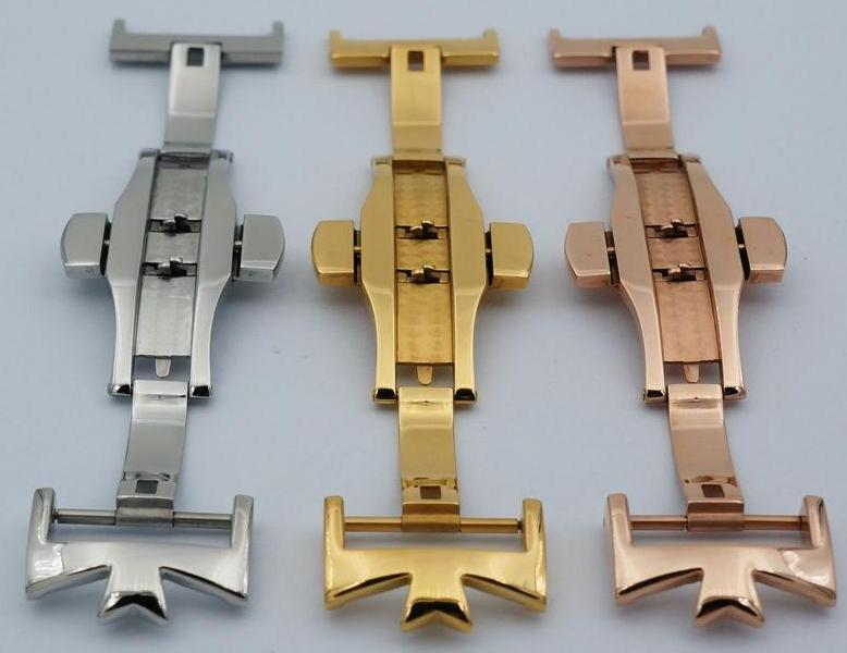 GRANDPRIX 316L Stainless Steel Watch Clasp 18mm 20mm Butterfly Buckle For Constantin/Generic Brand No Logo
