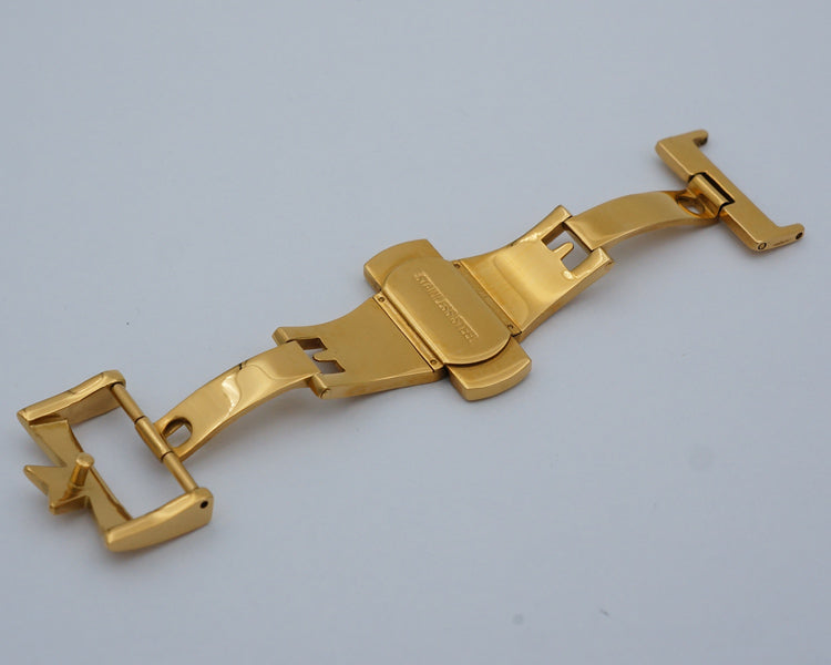 GRANDPRIX 316L Steel Watch Clasp 18mm 20mm B-Buckle For Constantin/Generic Brand