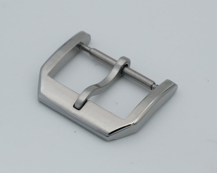 HARDY 316L Steel Brushed Watch Buckle for IWC/Generic Watch Brand 18mm 20mm