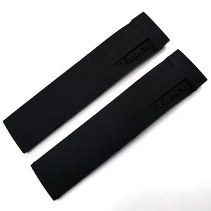 PRIX 21mm Flex Silicone Waterproof Watch Band Strap For Tissot T-Race T048.417