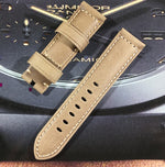 INFINITY Retro 24mm Vintage Italy Calf Leather Watch Band Strap For Panerai PAM 111/386/441/1312