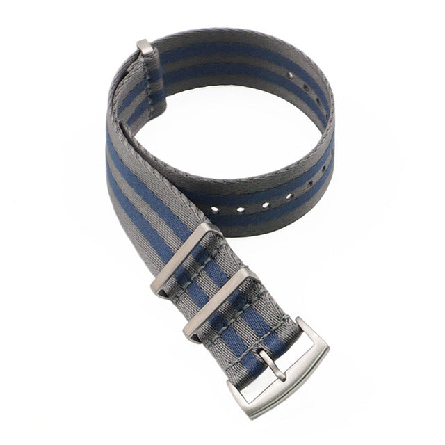 NATOBELT G10 Seat Belt Nylon Feather-lite 1.2mm Thick Watch Band Strap 20mm 22mm