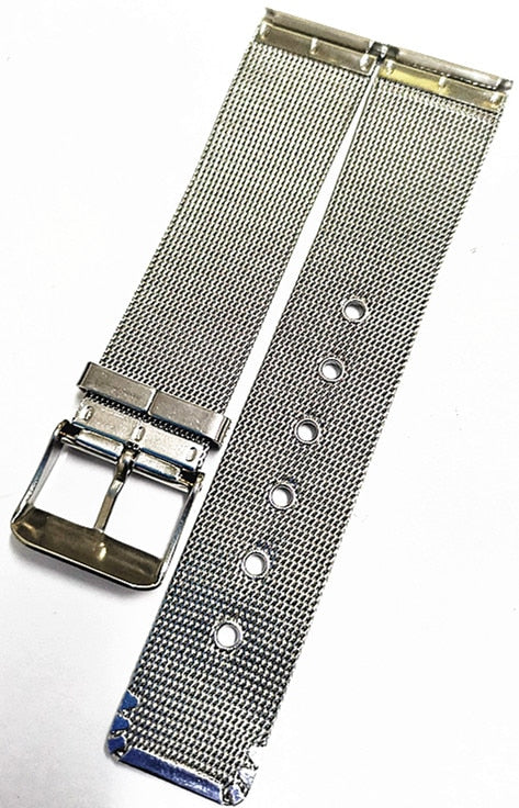 JOAN Vintage ChainMail Style Milanese S.Steel Watch Band Strap 12/14/16/18/20mm
