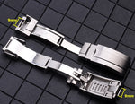 OYSTER Lock 9x9mm Folding Clasp Watch Buckle for Daytona Submariner YM Deepsea