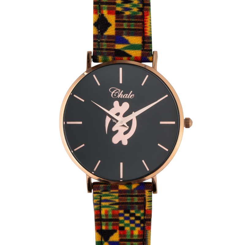 Gye Nyame african watch black chale watches