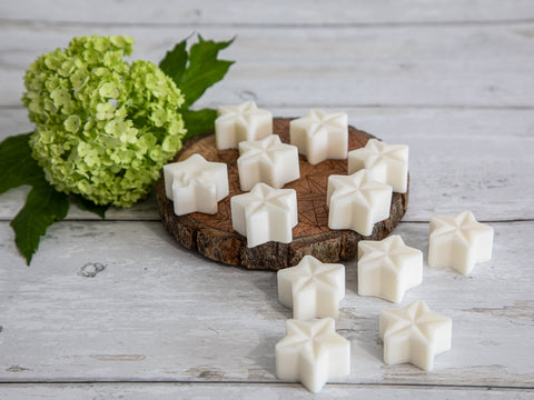 Eco-Soy Wax Melts - Box of 12 Scented Stars