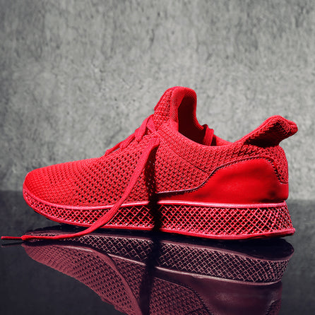 be8a109b745 Chaussures Homme Sport Baskets Mesh - Rouge – My-Trendy-Shop.com