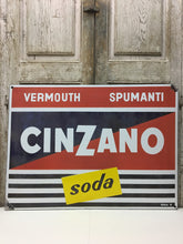 He teaches advertising CINZANO