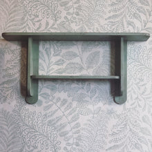 vintageshelf green mensola walldecor