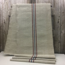 linen canvas hemp lino canapa teli runner europa stripes strisce naturale raw
