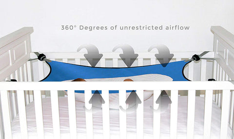 sleepsafe baby hammock 360 degree airflow