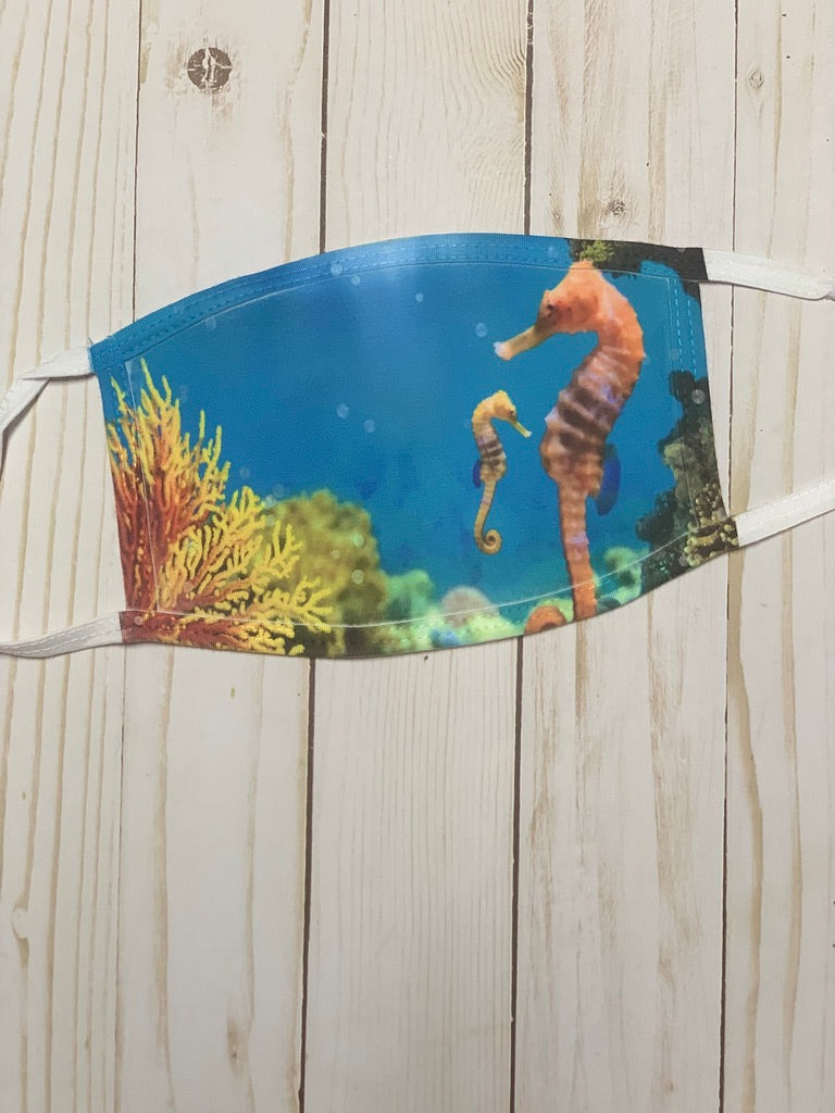 Adult Seahorse Mask