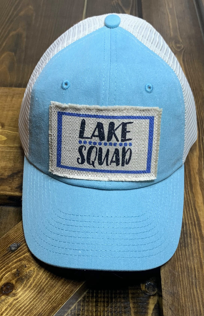 Trucker Patch Cap-Lake Squad