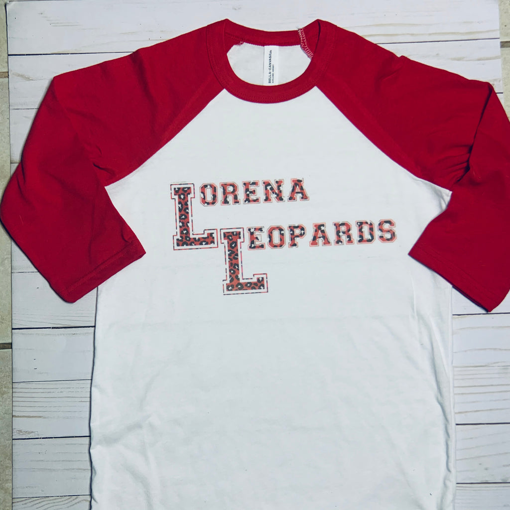 Lorena Leopards Raglan