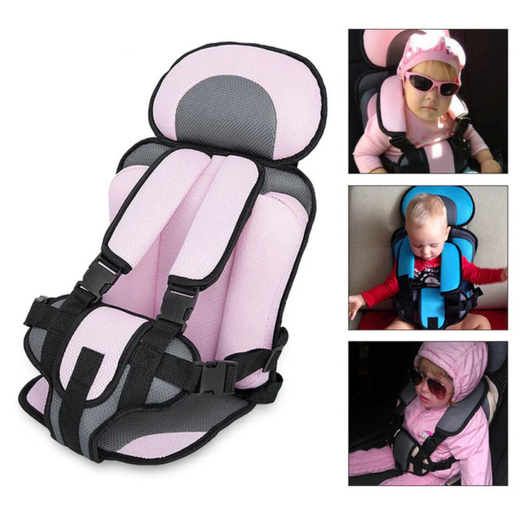 Safe & Secure Portable Child Seatbelt Vest/Seat | Golf Cart Seat