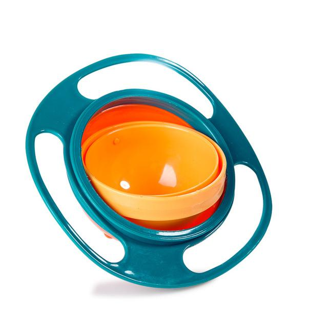 Baby Food Storage - Magical Anti-Spill Baby Gyro Bowl