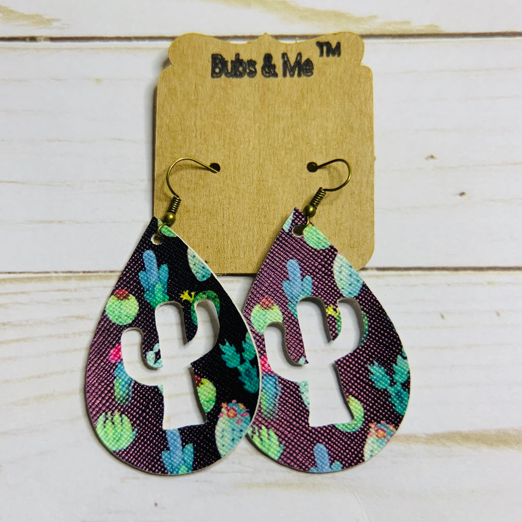 Cactus & Desert Earrings