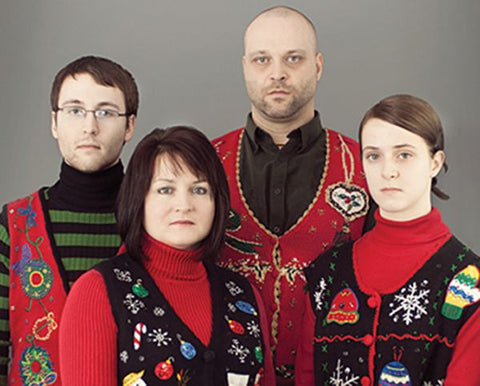 family Christmas jumpers