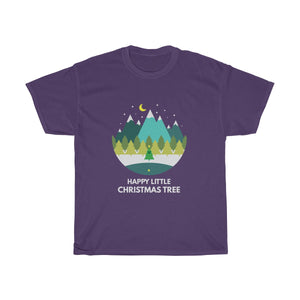 Happy Little Christmas Tree T-Shirt
