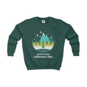 Happy Little Christmas Tree Kids' Jumper-Kids clothes-Jolly Christmas Jumper