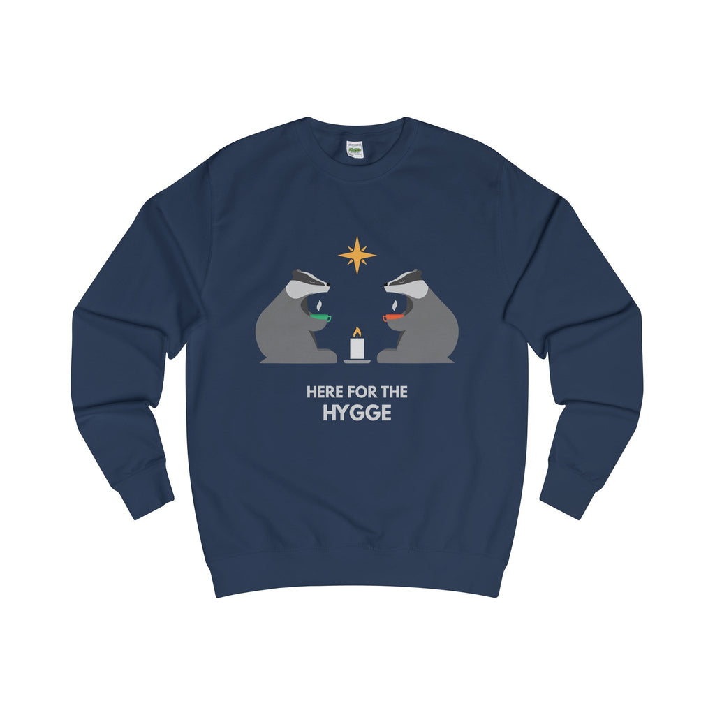 Here For The Hygge Christmas Jumper-Sweatshirt-Jolly Christmas Jumper