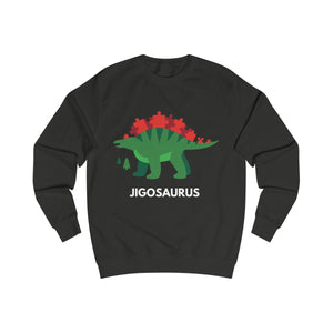 Jigosaurus Dinosaur Christmas Jumper-Sweatshirt-Jolly Christmas Jumper