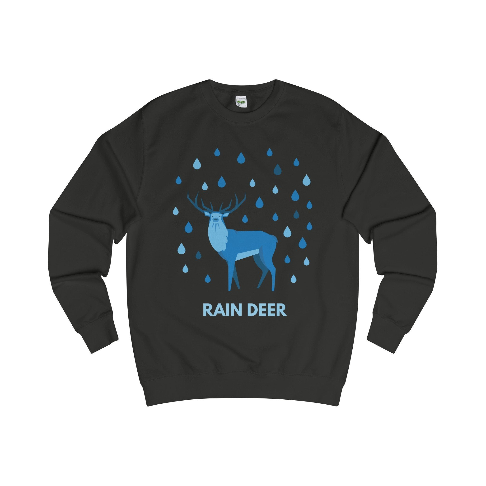 Rain Deer Christmas Jumper-Sweatshirt-Jolly Christmas Jumper