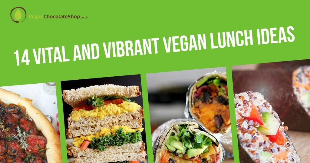 14 Vital And Vibrant Vegan Lunch Ideas
