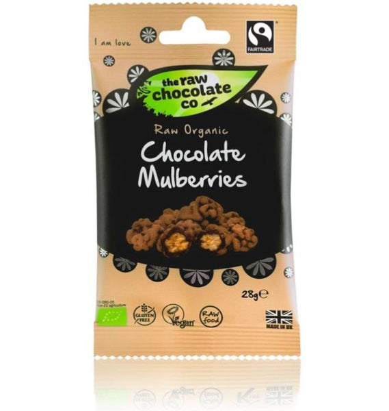 Chocolate Mulberries Vegan Chocolate