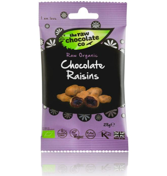 Raw Chocolate Co Vegan Chocolate Raisins