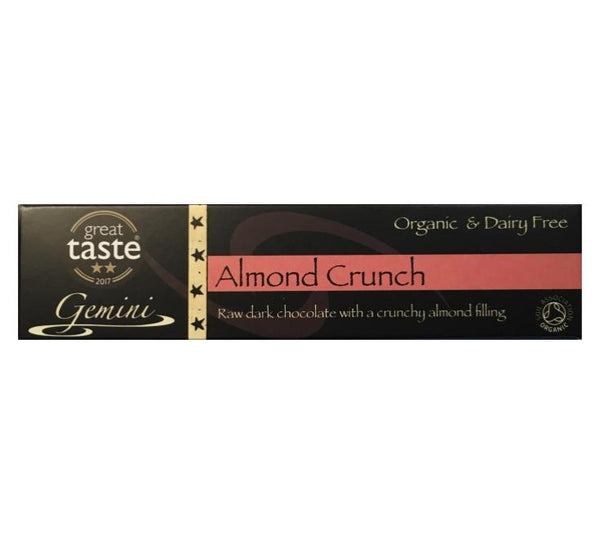 Gemini - Almond Crunch - 36g - VeganChocolateShop
