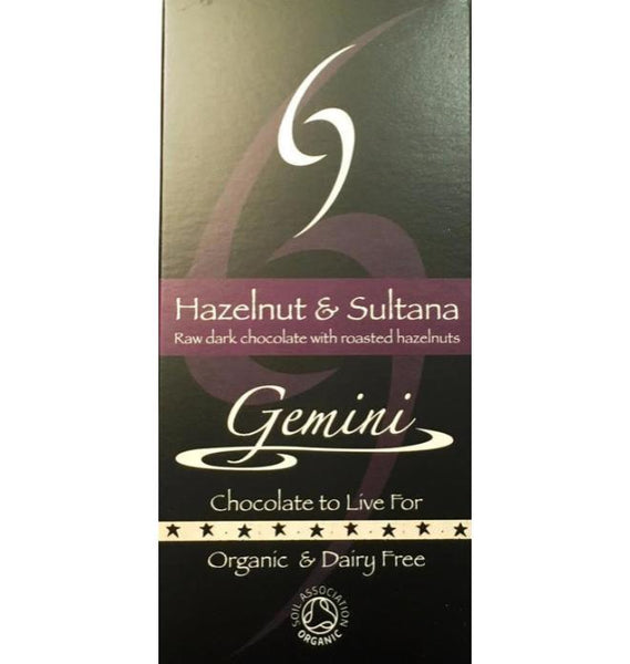 Gemini Hazelnut and Sultana