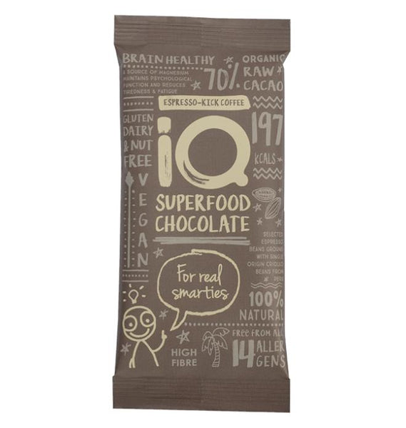 IQ Espresso Kick Vegan Chocolate