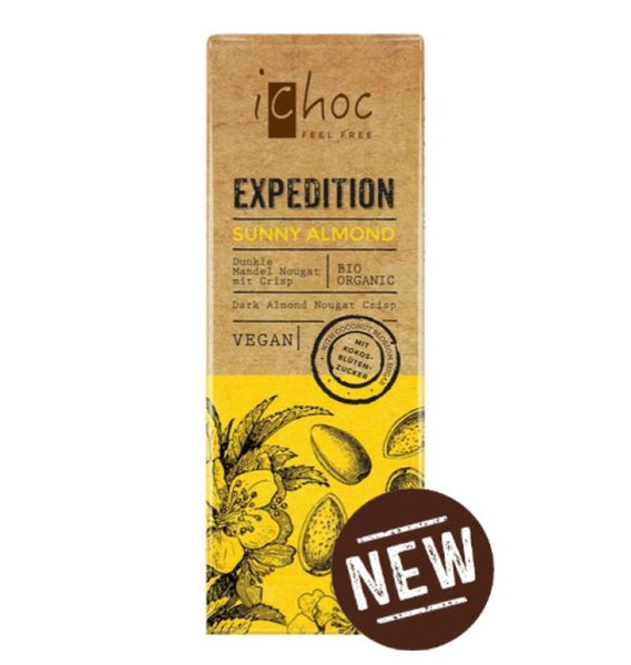 iChoc Expedition - Sunny Almond - 50g