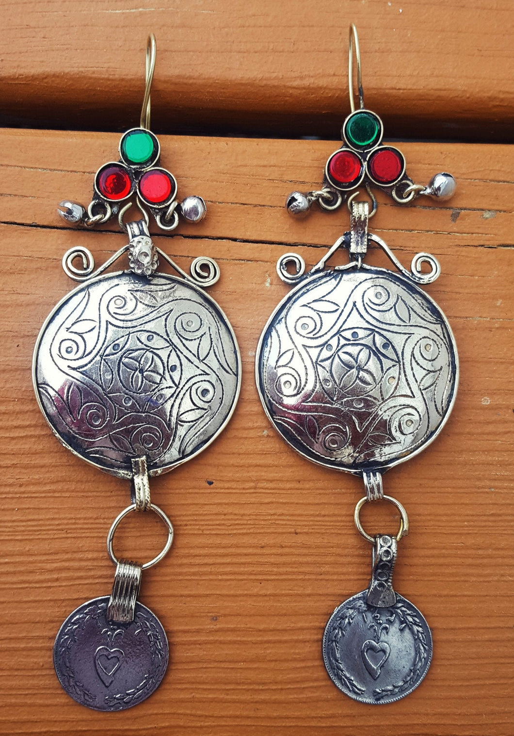 Coin Dangle earring