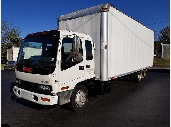 2004 GMC W5500 BOX TRUCK - STRAIGHT TRUCK