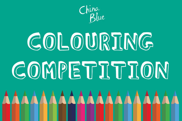 China Blue Colouring Competition