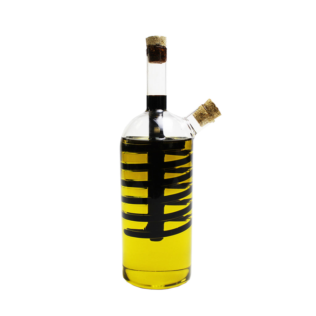 Glass Spiral Oil and Vinegar Pourer