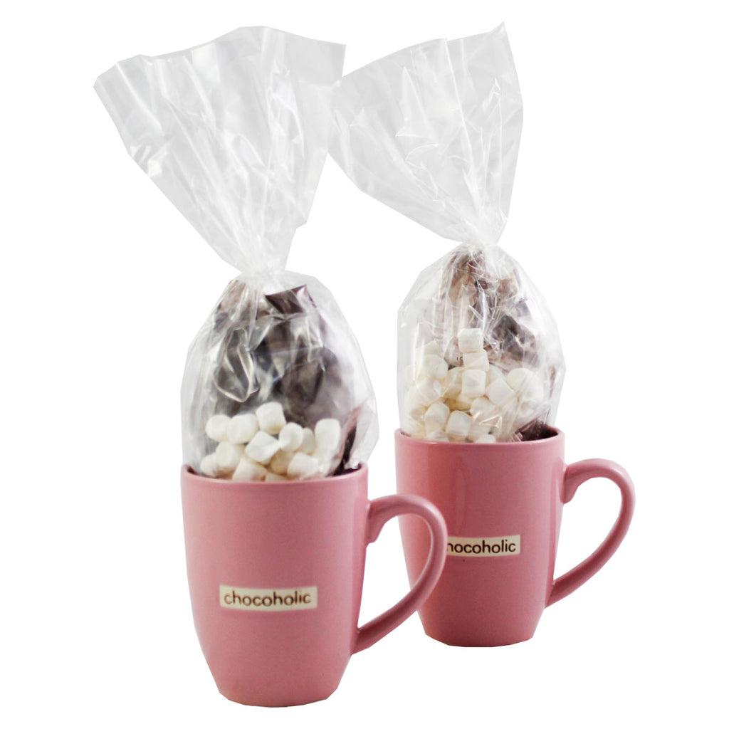 Pink Chocoholic Mug Set