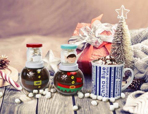 Elf Hot Chocolate Jar Set - Elves Only