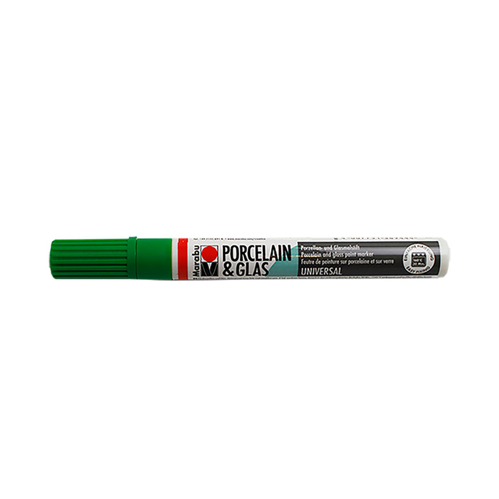 High-gloss Ceramic and Glass pen - Green