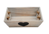 Set of 2 - Small Wooden Storage / Decretive Tray